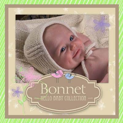 Appalachian Baby Design Kits Hello Baby Collection Bonnet