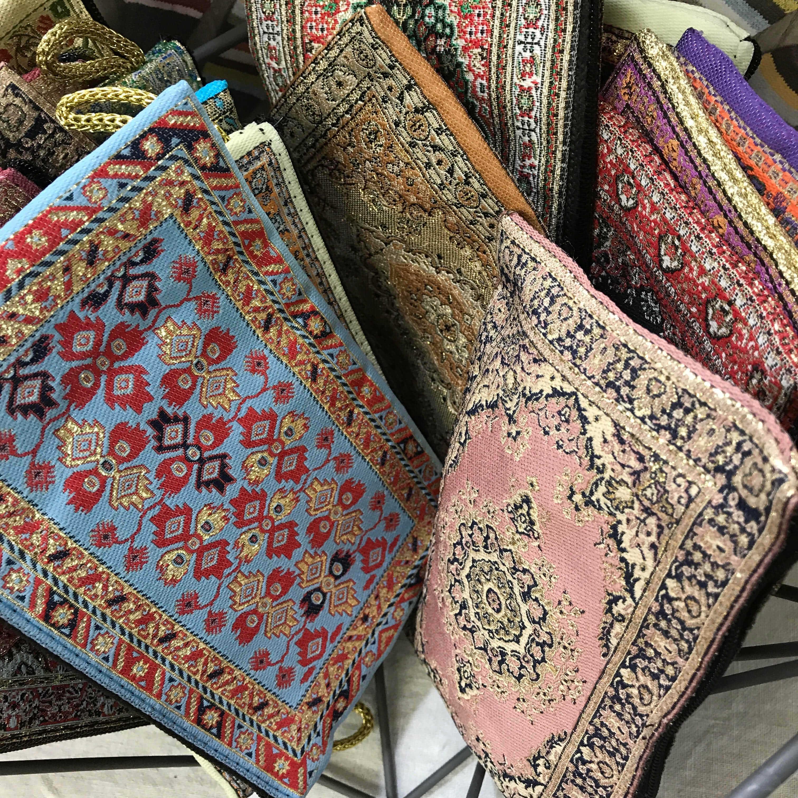 Turkish Carpet Notions Bags
