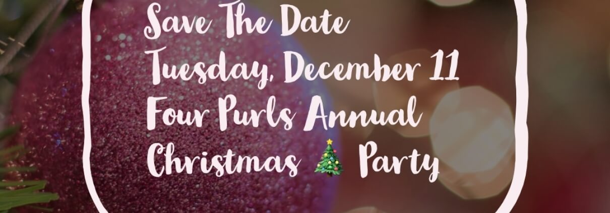 Four Purls Christmas Party