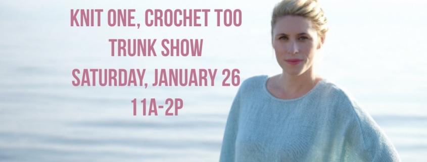 Knit One Crochet Too Trunk Show Four Purls Yarn Shop