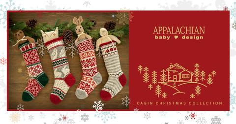 Christmas Stocking.Appalachian Baby Christmas Stocking Collection
